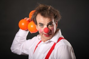 clowns_einrad