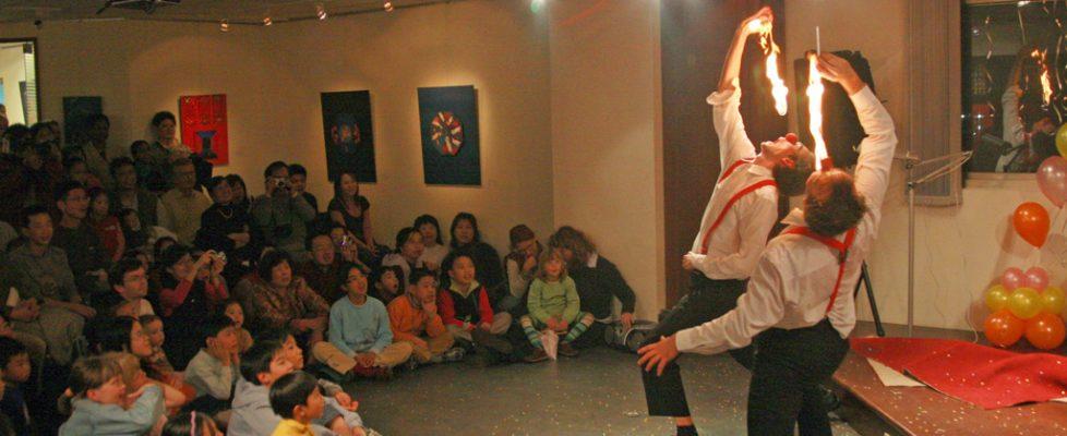 Clownshow in Taiwan