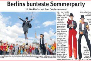 Berlin Gauklerfest