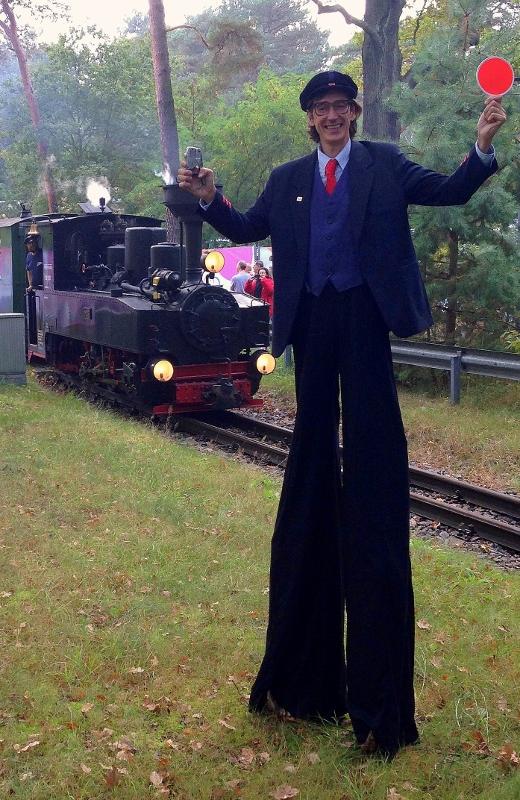 Comedy Schaffner bei der Berliner S-Bahn